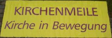 Banner - Kirchenmeile